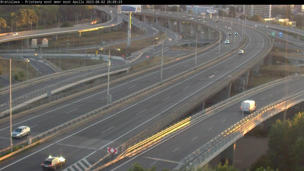 Webkamera Bratislava: Bratislavský: Diaľnica D1/E58/E75/E571