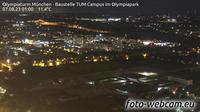 Milbertshofen: Olympiaturm M�nchen - Baustelle TUM Campus im Olympiapark - Actuales