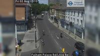 London: Fulham Palace Rd/Lillie Rd - Jour