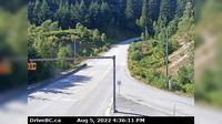 Gibsons › North: , Hwy , top of - Bypass at Stewart Rd, looking north - Recent