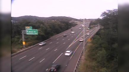 Traffic Cam Upper State Street Historic District › North: CAM  New Haven I- NB Exit - State St