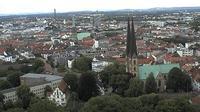 Gadderbaum: Panoramablick auf die Bielefelder Innenstadt - Overdag