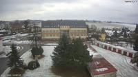 Dobronin: Dobron�n - Dobronin - Municipal Office - Day time