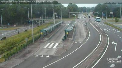 Webcam Horsthoek: N794b Transferium busstation, Heerde 2