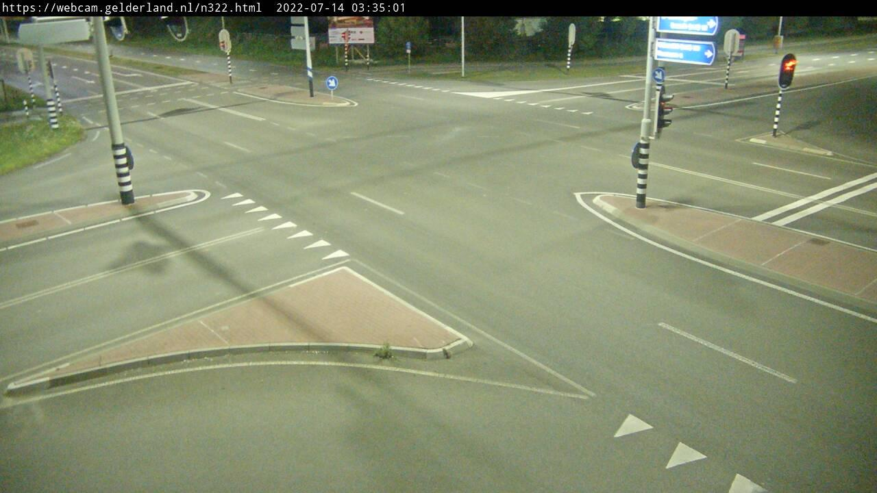 Webcam Bruchem: N322 Zaltbommel