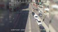 Stockholm: Hornsg.-L�ngholmsg. mot V�sterbron (Kameran �r placerad vid korsningen Hornsgatan/L�ngholmsgatan och �r riktad mot V�sterbron) - Current