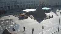 Karlsruhe: Marktplatz Pyramide - Actual