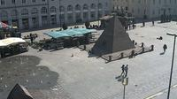 Karlsruhe: Marktplatz Pyramide - Dia