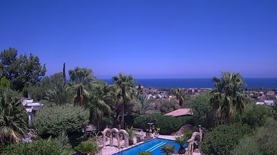 Vista de cámara web de luz diurna desde Lapithos: in
