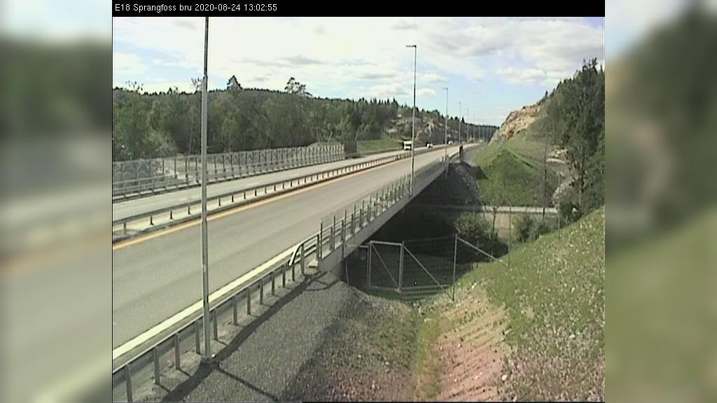 Webkamera Kjørstad: E18 Ødegårdens verk