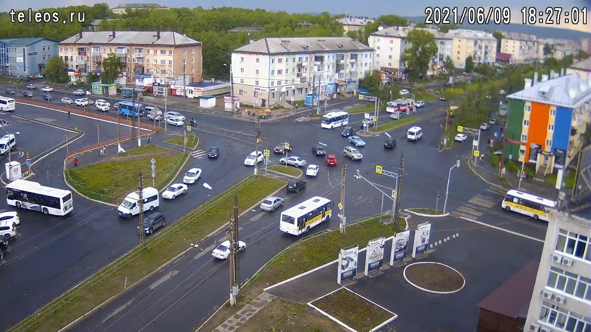 Webkamera Bratsk: Мира/Южная