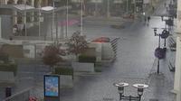 Brevik: Skien - Telemark fylke - Skien sentrum, Handelstorvet - Overdag