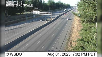 Webcam DuPont: I-5: Mounts Rd Scale