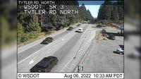 Poulsbo > North: SR  at MP : Tytler Rd Looking North - Recent