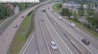 Tveta: Motorv�gsbron Norra (Kameran �r placerad p� E/E S�dert�ljev�gen i h�jd med Motorv�gsbrons norra f�ste och �r riktad mot Stockholm) - El día