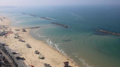 Tageslicht webcam ansicht von Tel Aviv: Tel Aviv Beach