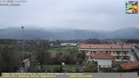 Sala Consilina: Vallo di Diano - Vista su monte Cervati - m - Overdag