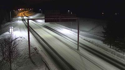 Vue webcam de jour à partir de Oulu: Tie 22 − Heikkilänkangas