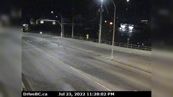 Webcam Departure Bay › East: Vancouver Island, Hwy 1 at Z