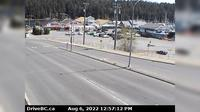 Nanaimo > East: , Hwy  at Zorkin Rd/Brechin Rd, looking to Zorkin Road - El día