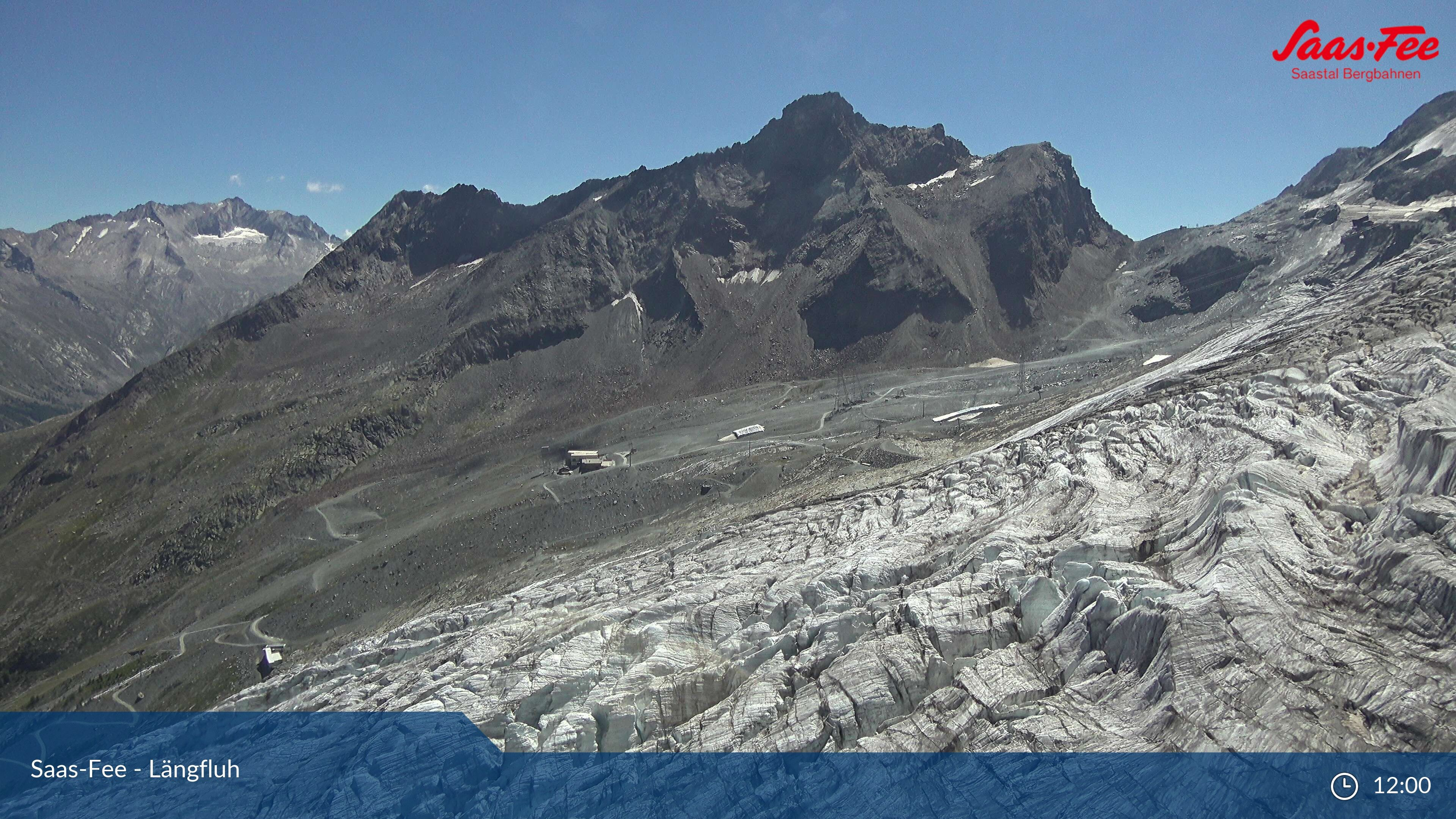 Saas-Fee: Längfluh Berg