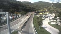 Vela: SSbis_km , in Trento Centro (vista con direzione est) - Actual