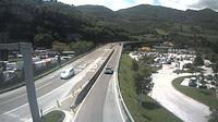 Vela: SSbis_km , in Trento Centro (vista con direzione est) - Overdag