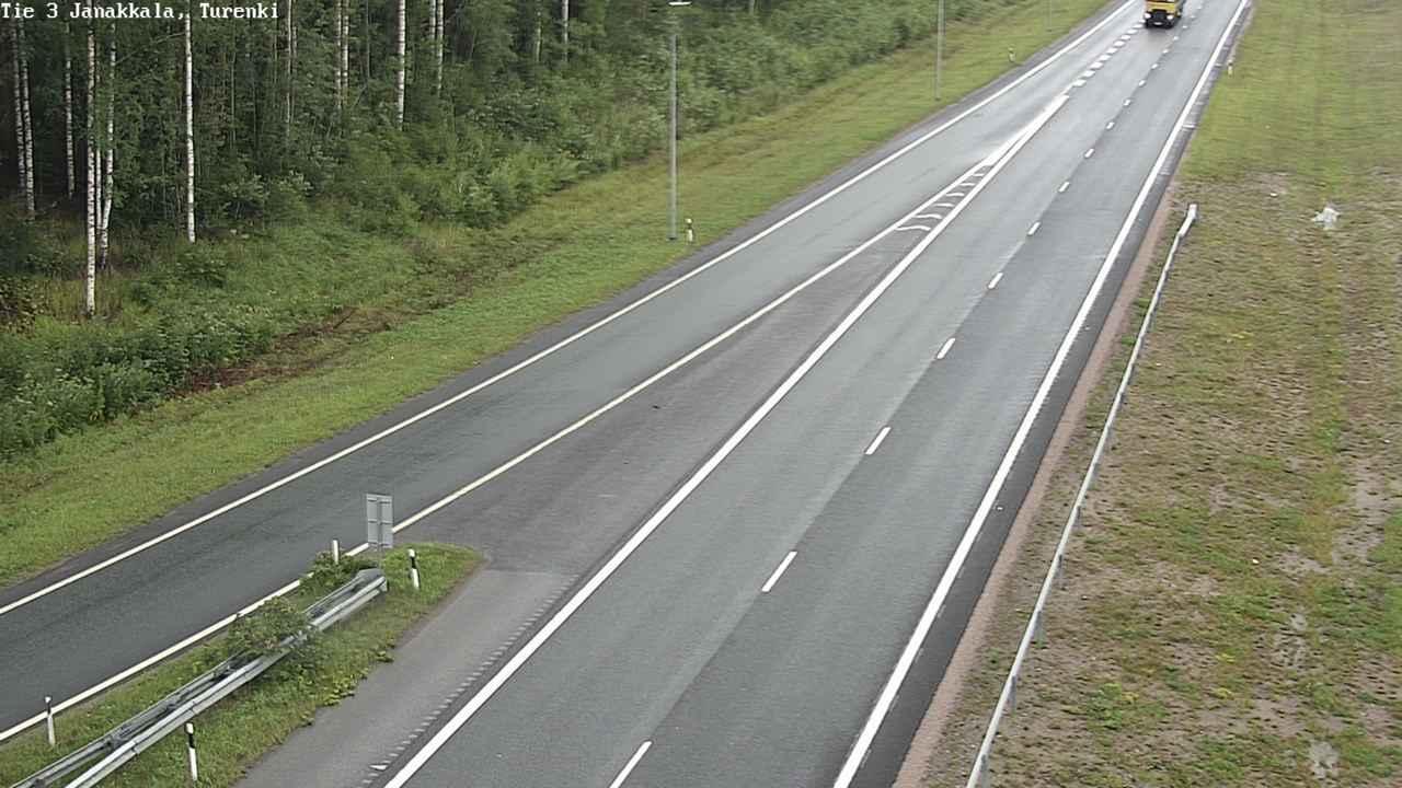 Webcam Janakkala: Tie 3 − Turenki − Hämeenlinnaan
