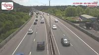 Baglan: Briton Ferry - M eastbound between junctions  and  (Earlswood and Pentyla) - Recent