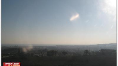 Tageslicht webcam ansicht von Stazione di Mondolfo Marotta: Vista della riviera Adriatica su Marotta, Senigallia, Ancona