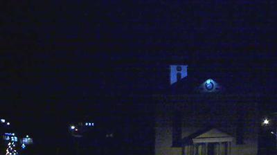 Vue actuelle ou dernière à partir de Hittisau: Bregenzerwald − Hotel Krone: Pfarrkirche von − Winterstaude