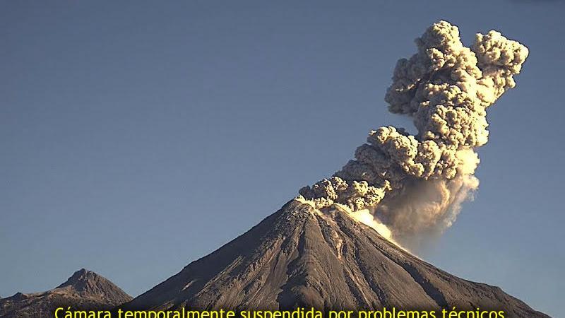 Webcam Colima › South: Volcán de Colima