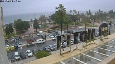 Current or last view from Torre del Mar › South: PASEO Y PLAYA