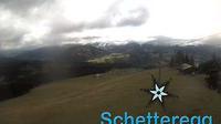 Ultima vista de la luz del día desde Amagmach: Schetteregg