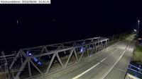 Kvicksund: Kvicksundsbron (Kameran är placerad på väg  i höjd med Kvicksundsbron och är riktad mot Västerås) - Current