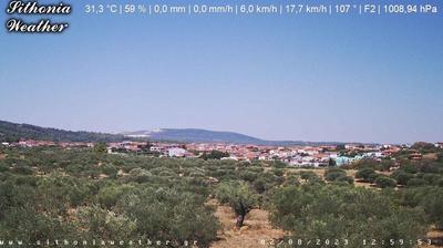 Daylight webcam view from Agios Nikolaos › North: VILLAGE