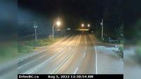 Nanoose Bay > North: Hwy  at Northwest Bay Rd, near - looking north - Actuales