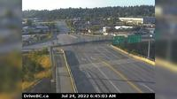 New Westminster > South: Hwy  (South Fraser Perimeter Rd) at Tannery Rd Overpass in Surrey, looking south - Aktuell