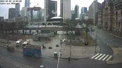 Daylight webcam view from Toronto City Hall: Toronto