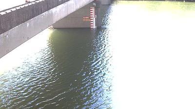Daylight webcam view from Hakata › South West: Inari Bridge