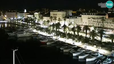 Split: PTZ camera, panorama