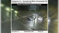 Rivergrove: Clackamas Co - Sunnybrook Blvd at Sunnyside Rd - Actual