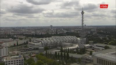 Daylight webcam view from Berlin: RBB Fernsehzentrum