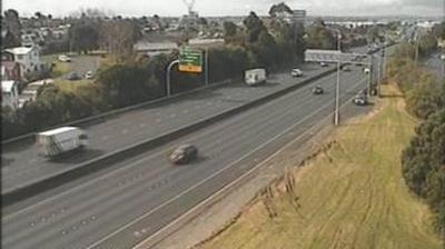 Vue webcam de jour à partir de Auckland: S4 SE Highway