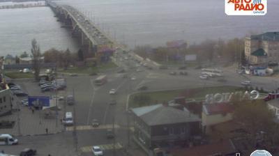 Веб-камера Мост Саратов-Энгельс (вид с