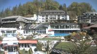 Ultima vista de la luz del día desde Fuschl am See: Fuschlsee Webcam