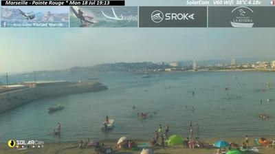 Thumbnail of Marseille webcam at 2:51, Mar 8