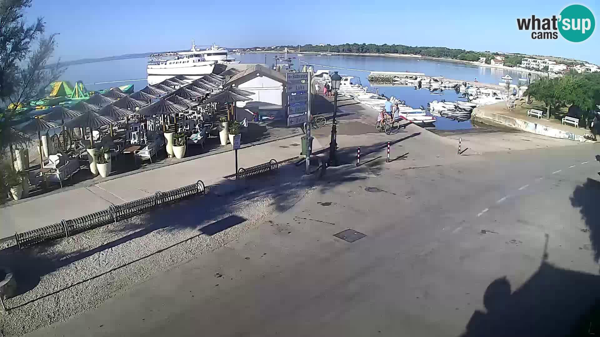 Webcam Otok Vir: Vir, beach