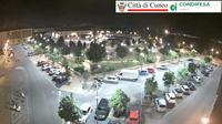 Cuneo: piazza Foro Boario - Actual
