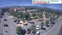 Cuneo: piazza Foro Boario - Dia